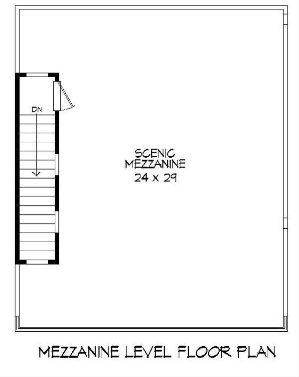 Contemporary Floor Plan - Upper Floor Plan #932-213