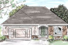 House Plan Design - Traditional Exterior - Front Elevation Plan #20-1255