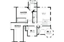 Victorian Floor Plan - Lower Floor Plan Plan #48-108