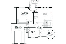 Victorian Floor Plan - Lower Floor Plan Plan #48-108