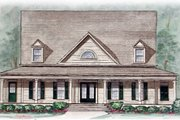Country Style House Plan - 5 Beds 3.5 Baths 2828 Sq/Ft Plan #54-116