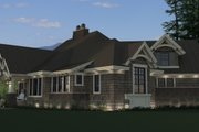 Craftsman Style House Plan - 3 Beds 3 Baths 2177 Sq/Ft Plan #51-571 Exterior - Other Elevation