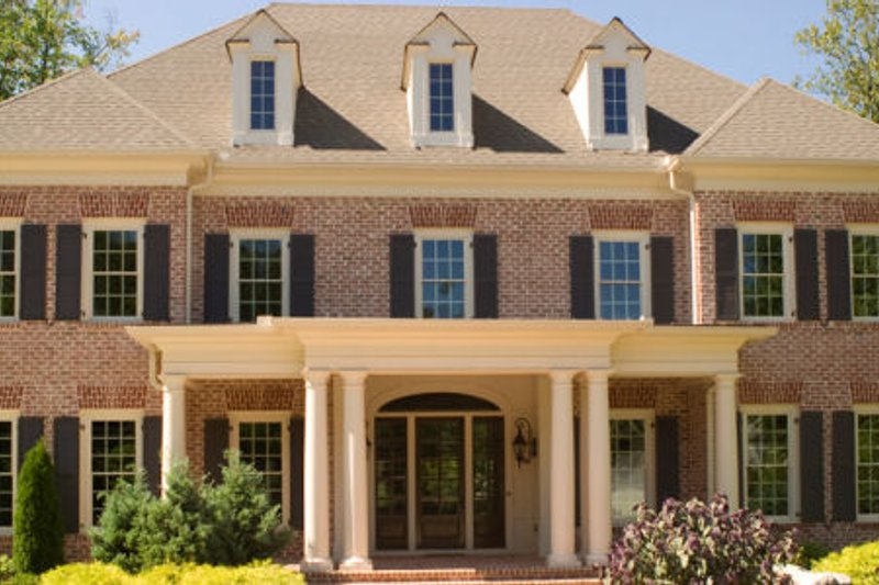 Home Plan - Classical Exterior - Front Elevation Plan #119-207
