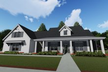 Architectural House Design - Farmhouse Exterior - Front Elevation Plan #1069-4