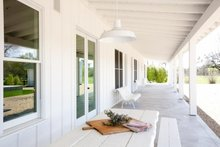Ranch Exterior - Outdoor Living Plan #888-2