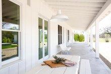 Ranch Exterior - Outdoor Living Plan #888-2