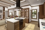 Cottage Style House Plan - 4 Beds 2.5 Baths 2298 Sq/Ft Plan #406-9654 Interior - Kitchen