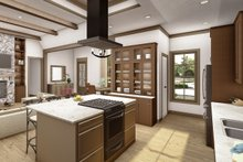 Architectural House Design - Cottage Interior - Kitchen Plan #406-9654
