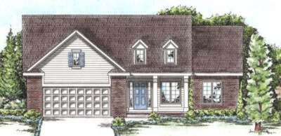 Traditional Exterior - Front Elevation Plan #20-1666