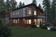 Contemporary Style House Plan - 6 Beds 5.5 Baths 5816 Sq/Ft Plan #1066-38 Exterior - Other Elevation