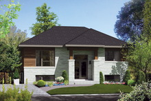 Dream House Plan - Exterior - Front Elevation Plan #25-4269
