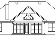 Colonial Style House Plan - 3 Beds 2 Baths 2001 Sq/Ft Plan #15-122