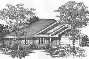Traditional Exterior - Front Elevation Plan #329-142