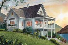 House Plan Design - Southern Exterior - Rear Elevation Plan #23-2038