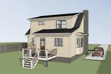 Dream House Plan - Bungalow Exterior - Other Elevation Plan #79-314