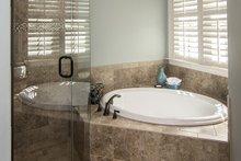 House Design - Country Interior - Master Bathroom Plan #929-610