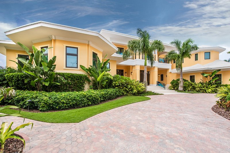 House Design - Beach Exterior - Front Elevation Plan #938-102