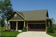 Cottage Style House Plan - 3 Beds 3 Baths 1898 Sq/Ft Plan #20-2349 Exterior - Front Elevation