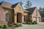 European Style House Plan - 3 Beds 2 Baths 2487 Sq/Ft Plan #430-154 Exterior - Front Elevation