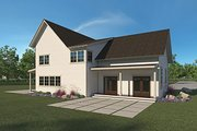 Farmhouse Style House Plan - 4 Beds 2.5 Baths 3289 Sq/Ft Plan #1068-2 Exterior - Rear Elevation