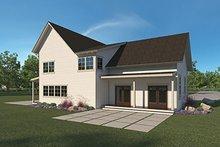 Farmhouse Exterior - Rear Elevation Plan #1068-2