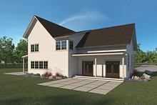 Farmhouse Exterior - Rear Elevation Plan #1068-2