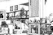 European Style House Plan - 4 Beds 3 Baths 2812 Sq/Ft Plan #47-194