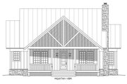 Country Style House Plan - 3 Beds 3.5 Baths 1972 Sq/Ft Plan #932-3 Exterior - Front Elevation