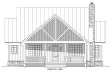 Country Exterior - Front Elevation Plan #932-3