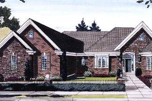 House Design - European Exterior - Front Elevation Plan #46-403