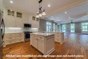 Craftsman Style House Plan - 4 Beds 3 Baths 2219 Sq/Ft Plan #430-174 Interior - Kitchen