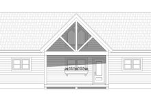 House Plan Design - Cabin Exterior - Front Elevation Plan #932-56