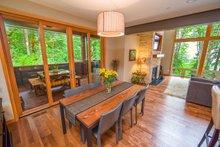 Contemporary Interior - Dining Room Plan #1070-7