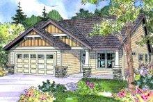 Craftsman Exterior - Front Elevation Plan #124-693