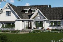 Dream House Plan - Farmhouse Exterior - Front Elevation Plan #51-1142