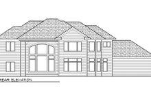 Dream House Plan - European Exterior - Rear Elevation Plan #70-1008
