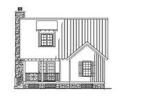 Home Plan - Farmhouse Exterior - Rear Elevation Plan #17-2020