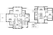 Country Style House Plan - 2 Beds 2.5 Baths 2557 Sq/Ft Plan #928-297 Floor Plan - Upper Floor Plan
