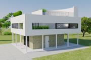 Modern Style House Plan - 3 Beds 3 Baths 2622 Sq/Ft Plan #542-17