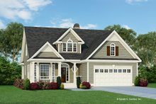 Home Plan Design - Country Exterior - Front Elevation Plan #929-522