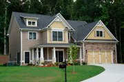 Traditional Style House Plan - 4 Beds 3 Baths 2292 Sq/Ft Plan #419-212 Exterior - Front Elevation