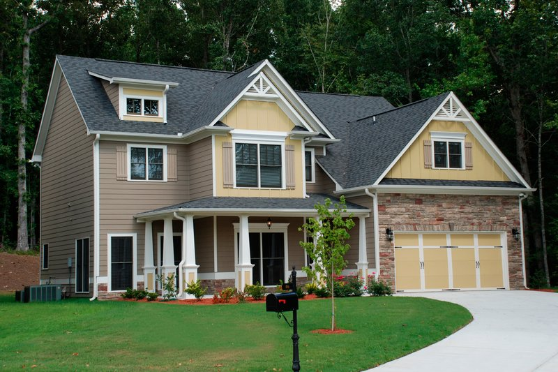 Traditional Exterior - Front Elevation Plan #419-212 - Houseplans.com