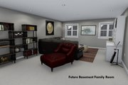 Ranch Style House Plan - 3 Beds 2 Baths 1635 Sq/Ft Plan #1060-42 Interior - Family Room