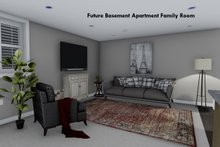 House Plan Design - Future Finished Basement Apartment