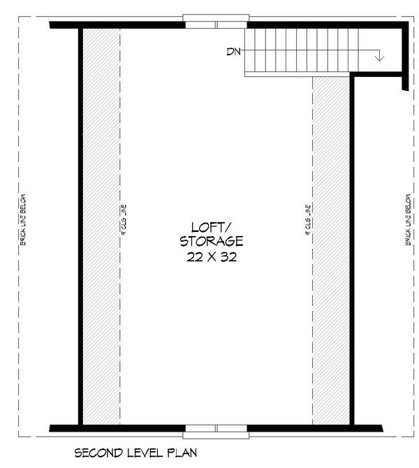 Country Floor Plan - Upper Floor Plan Plan #932-271