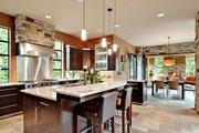 Modern Style House Plan - 4 Beds 4.5 Baths 4750 Sq/Ft Plan #132-221 Interior - Kitchen