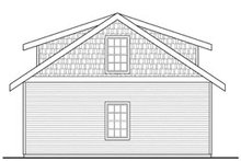 Craftsman Exterior - Other Elevation Plan #124-800
