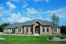 House Plan Design - European Exterior - Front Elevation Plan #20-103