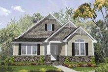 Home Plan - Bungalow Exterior - Front Elevation Plan #50-126