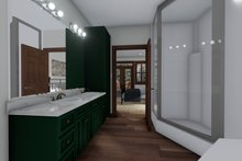 House Design - Cabin Interior - Master Bathroom Plan #1060-24